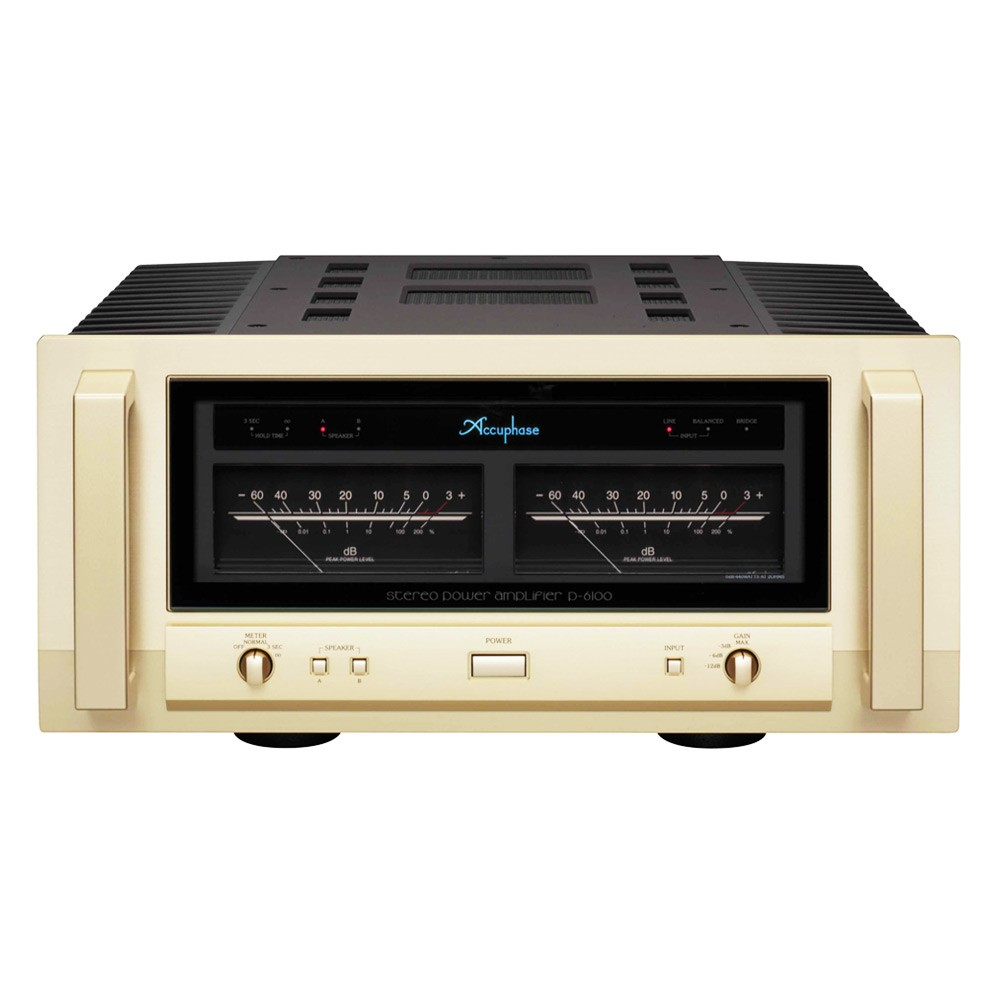 Accuphase M Stereo Power Amplifier Front on Mos Fet Amplifier Circuit