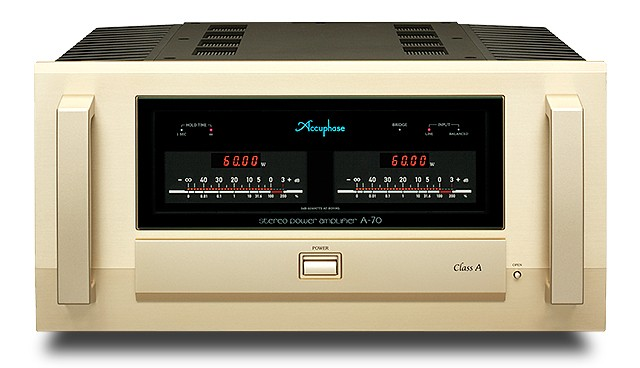Accuphase A 70 Class A Stereo Power Amplifier