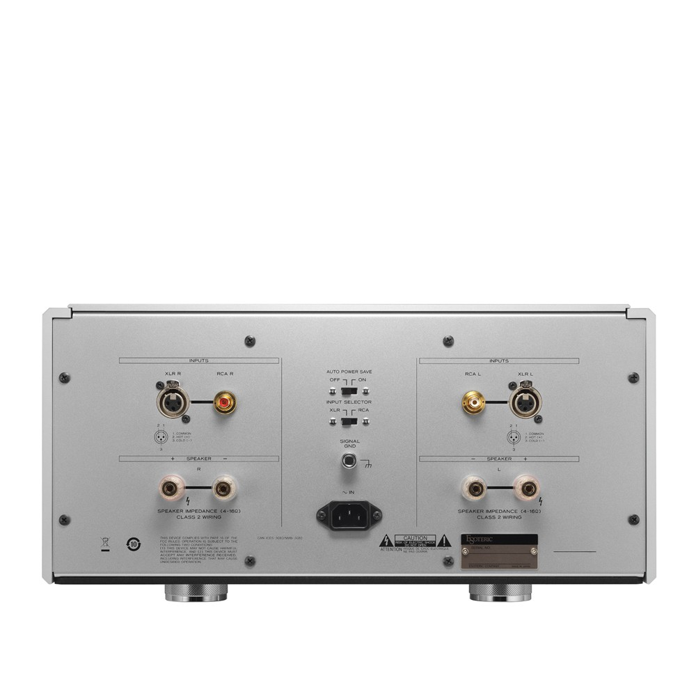 Esoteric S 03 Stereo Power Amplifier Class 2 Audio Wiring Front Rear