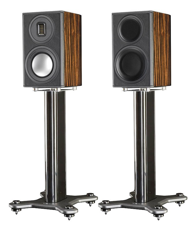 Monitor Audio Pl100 II Santos Rosewood With Stand Piano Black Ebony