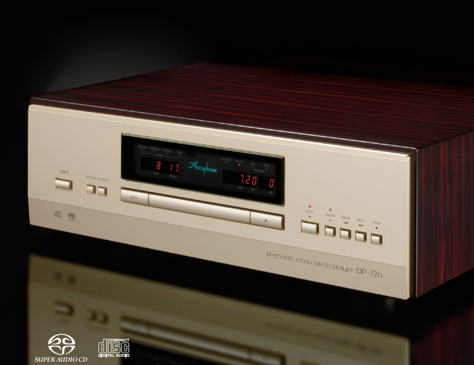 Accuphase Dp 720 Mdsd Sa Cd Player