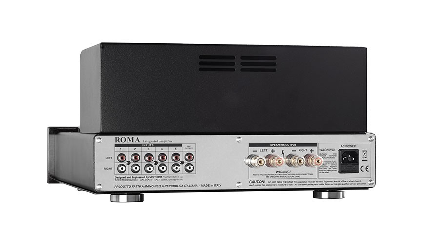Synthesis Roma R27ac Stereo Tube Amplifier