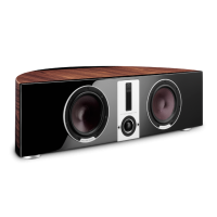 Dali EPICON VOKAL Center Speaker_walnut
